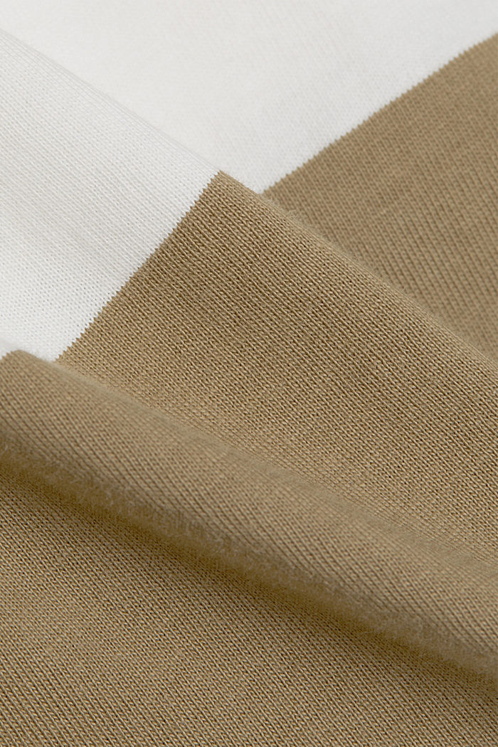 T-shirt made of 100% organic cotton, LIGHT KHAKI, detail image number 4