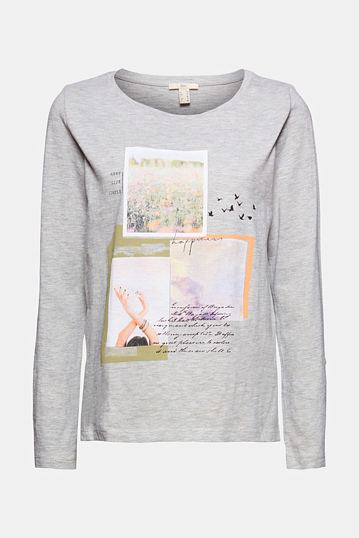 Print-Shirt mit Organic Cotton