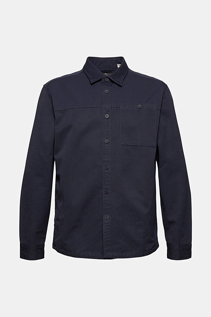 Twill-Overshirt aus 100% Organic Cotton