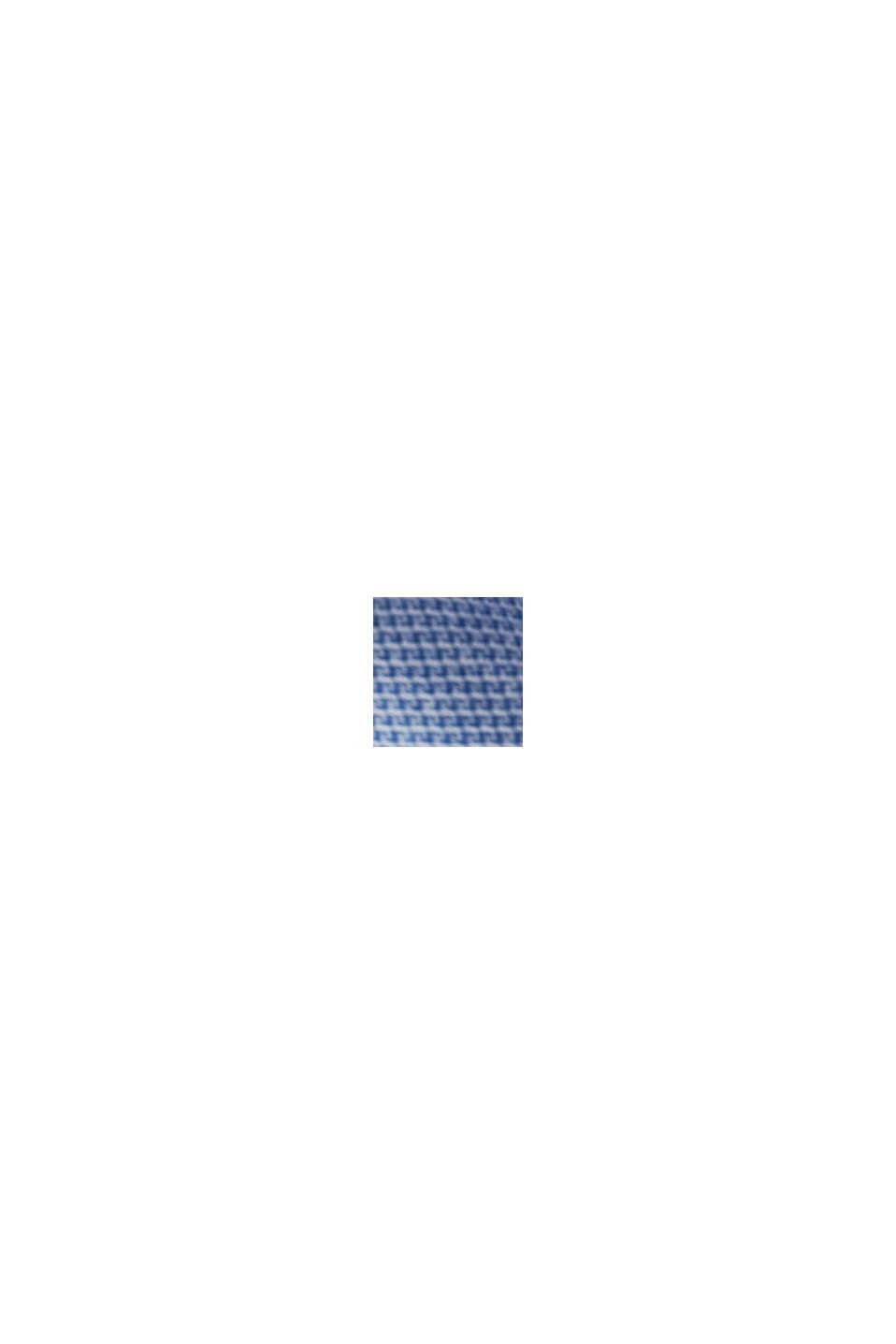Overhemd van biologisch katoen met structuur, LIGHT BLUE, swatch