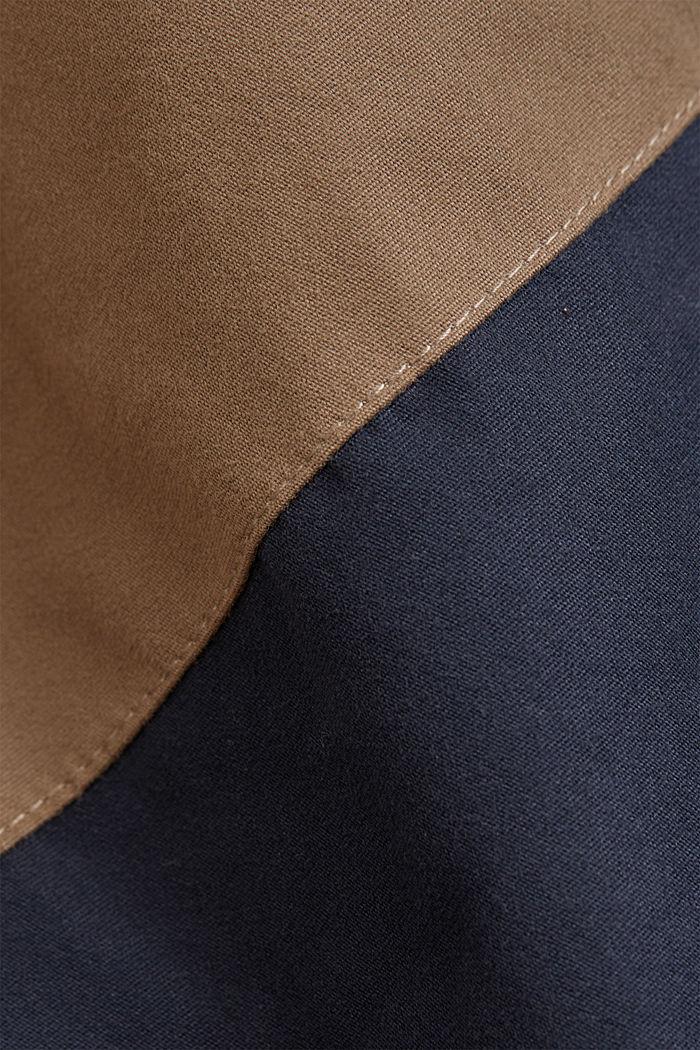 Weatherproof light jacket in blended cotton, BEIGE, detail image number 4