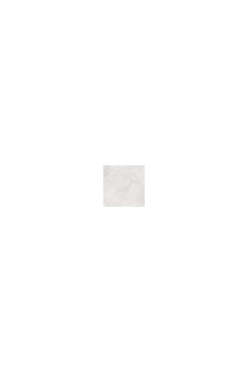 Gestructureerde trui van 100% biologisch katoen, OFF WHITE, swatch