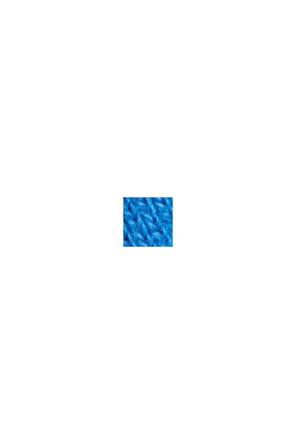 Sweatshirt aus 100% Baumwolle, BRIGHT BLUE, swatch
