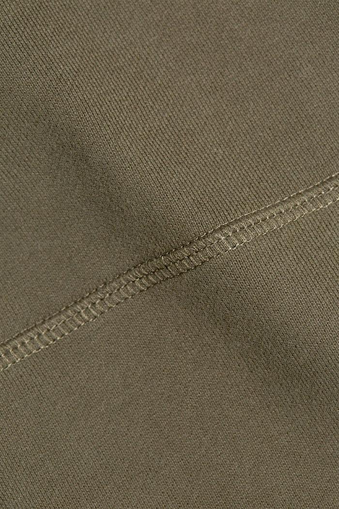 Sweat-Hoodie aus 100% Baumwolle, DARK KHAKI, detail image number 4