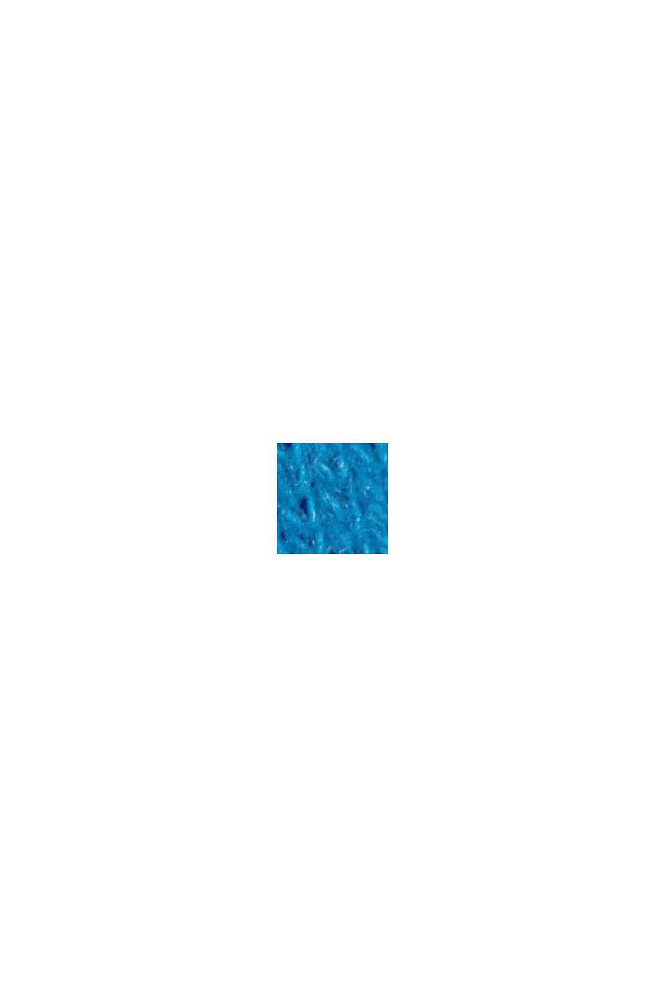 Sweathoodie van 100% katoen, BRIGHT BLUE, swatch