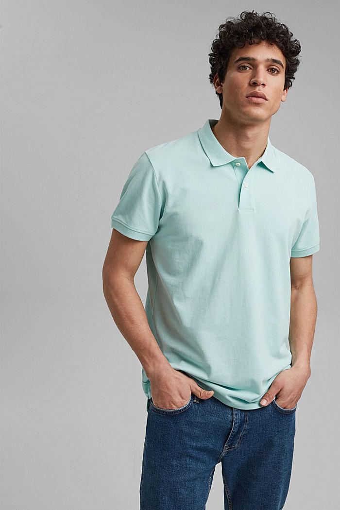 Piqué-Poloshirt aus 100% Organic Cotton