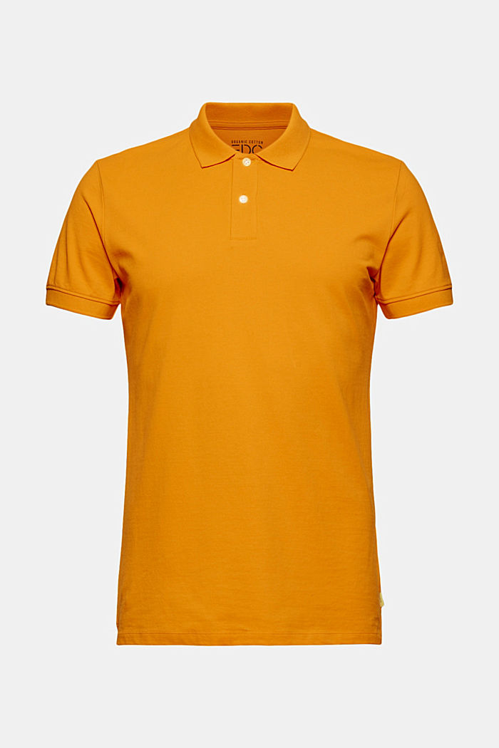 Piqué polo shirt made of 100% organic cotton, SUNFLOWER YELLOW, detail image number 5