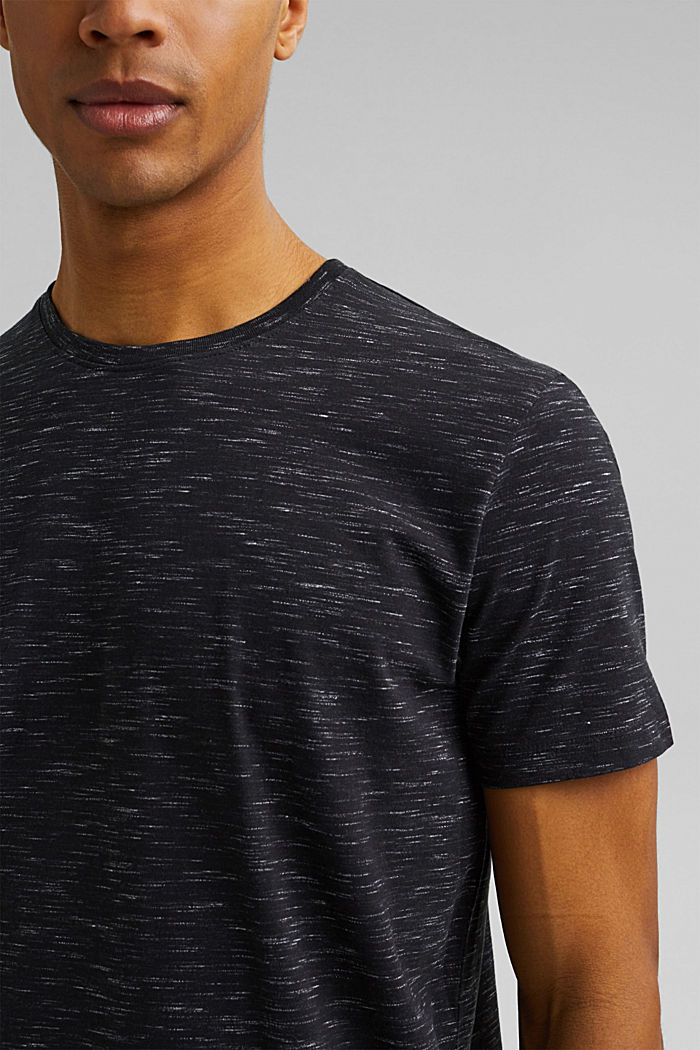 Recycled: T-shirt with organic cotton, ANTHRACITE, detail image number 1
