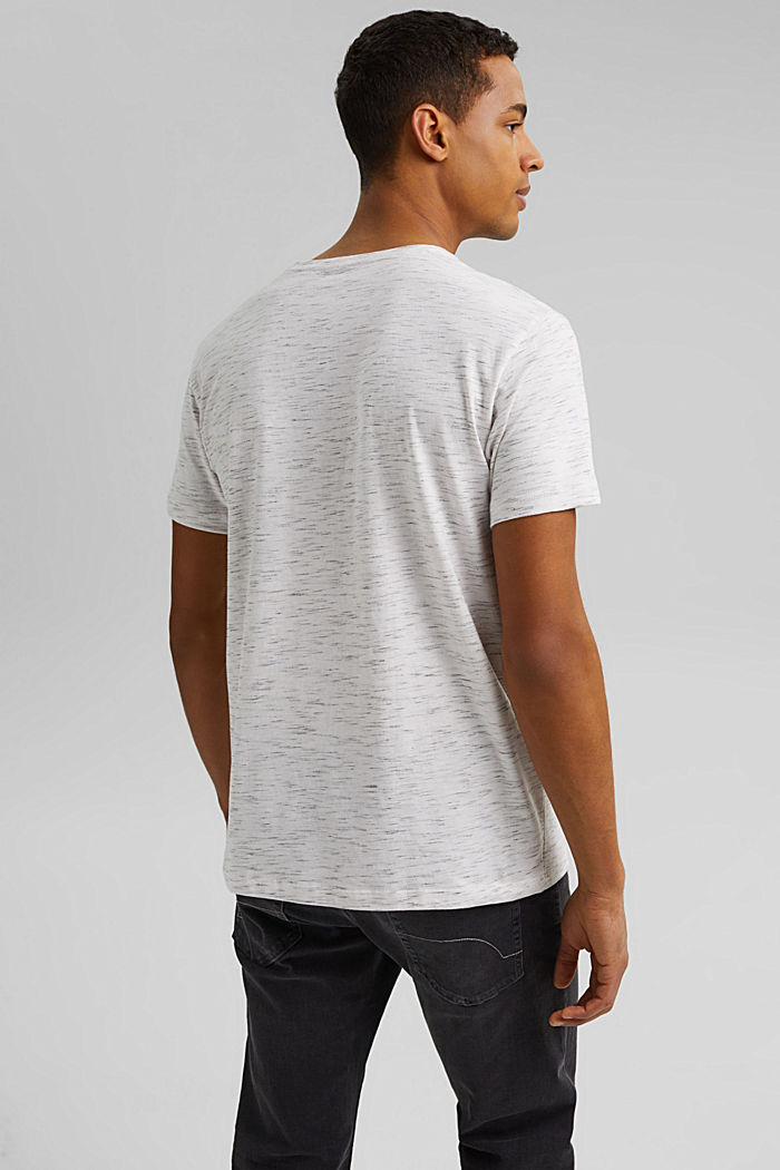 Recycelt: T-Shirt mit Organic Cotton, OFF WHITE, detail image number 3