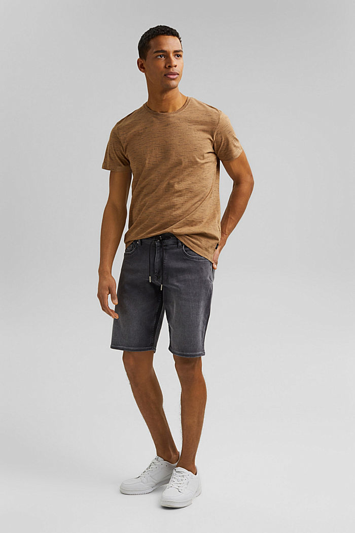 Recycled: T-shirt with organic cotton, KHAKI BEIGE, detail image number 2