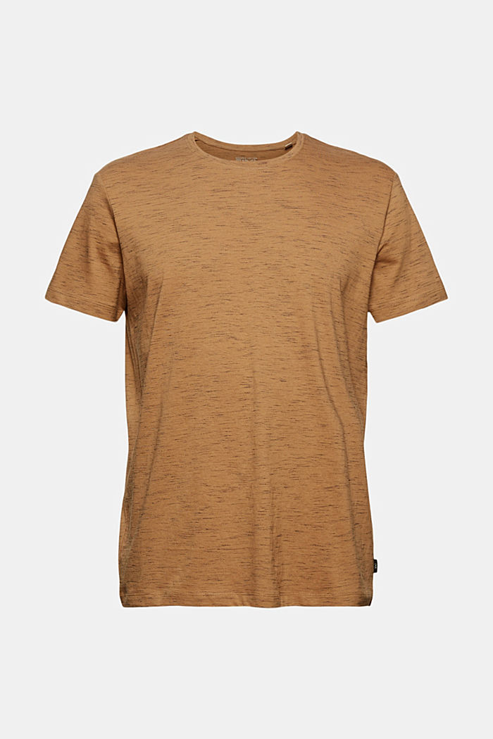 Recycled: T-shirt with organic cotton, KHAKI BEIGE, detail image number 5