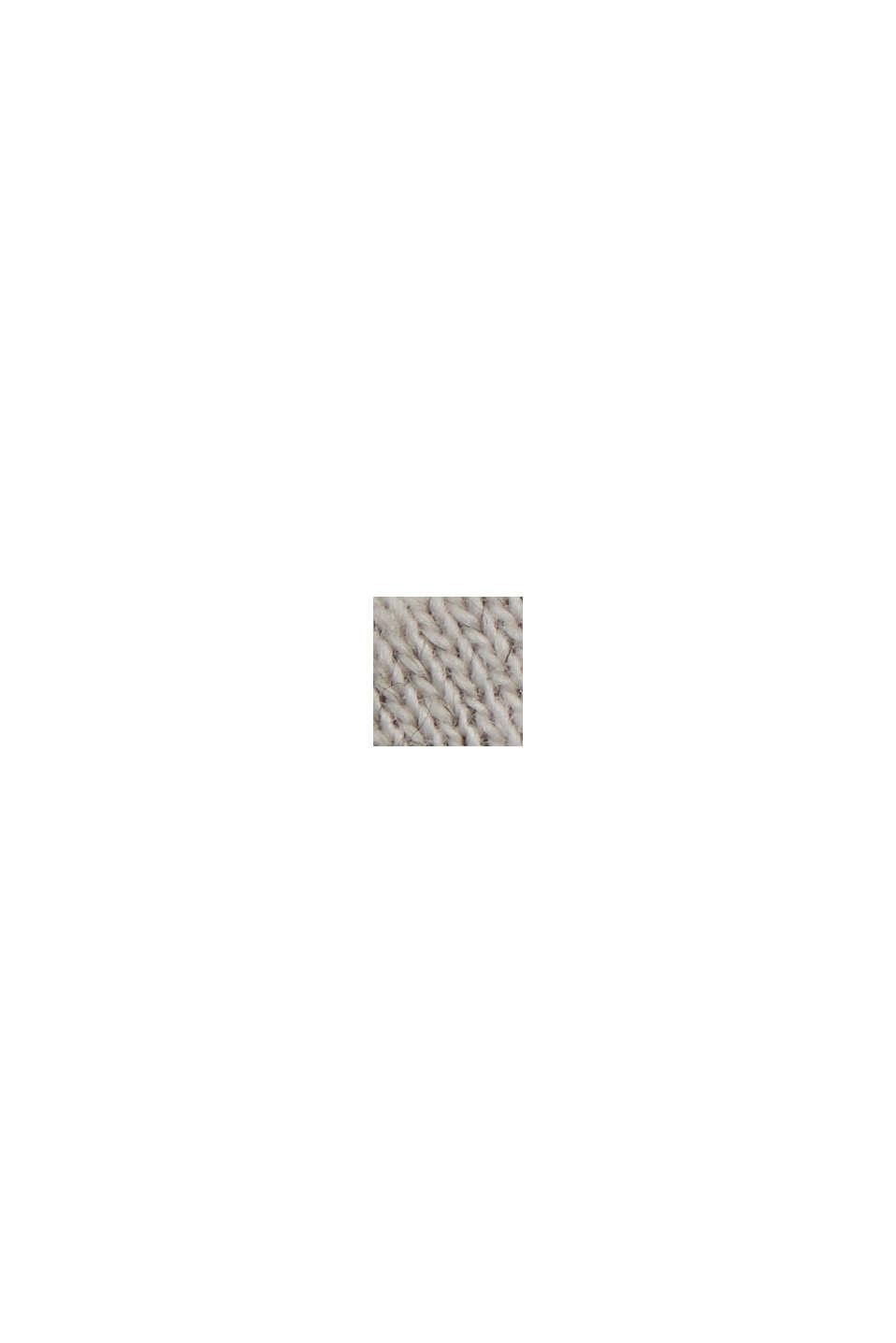 Block stripe top, organic cotton, ANTHRACITE, swatch