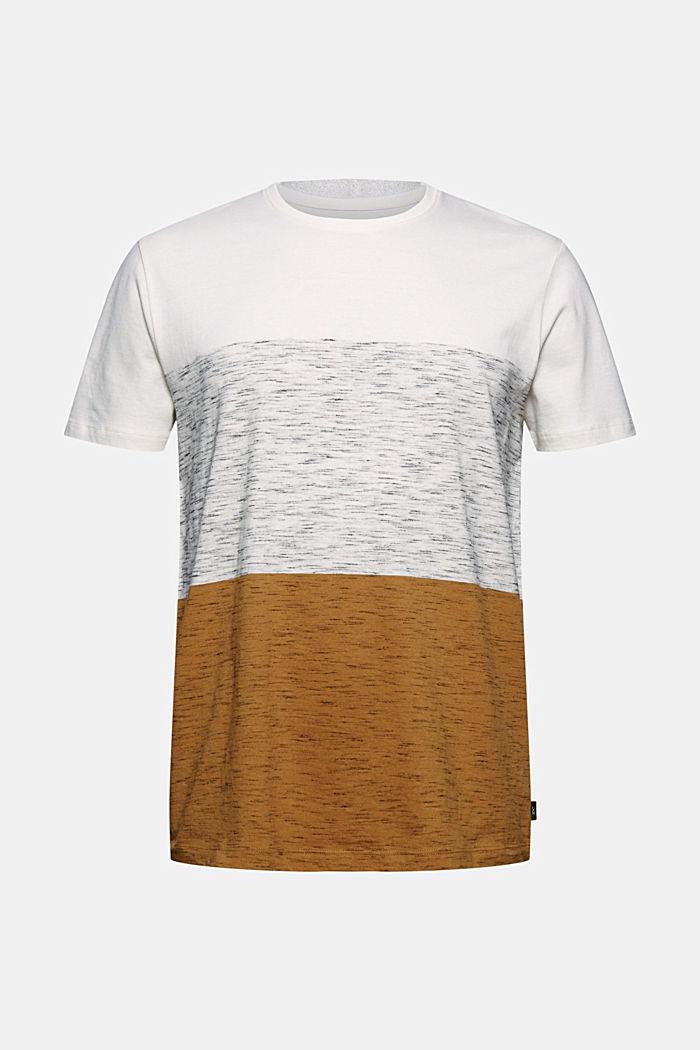 Block stripe top, organic cotton
