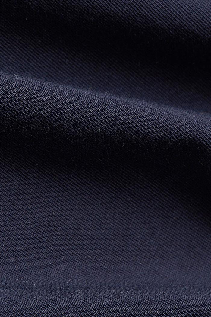 Printed T-shirt in 100% organic cotton, NAVY, detail image number 4