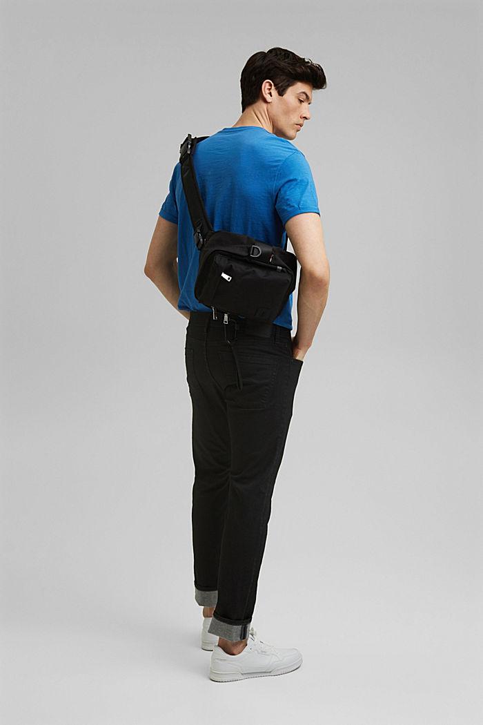 T-shirt basic w 100% z bawełny organicznej, BRIGHT BLUE, detail image number 2
