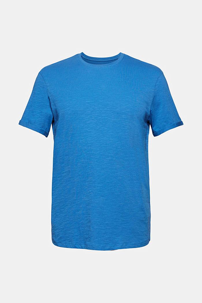 T-shirt basic w 100% z bawełny organicznej, BRIGHT BLUE, detail image number 5