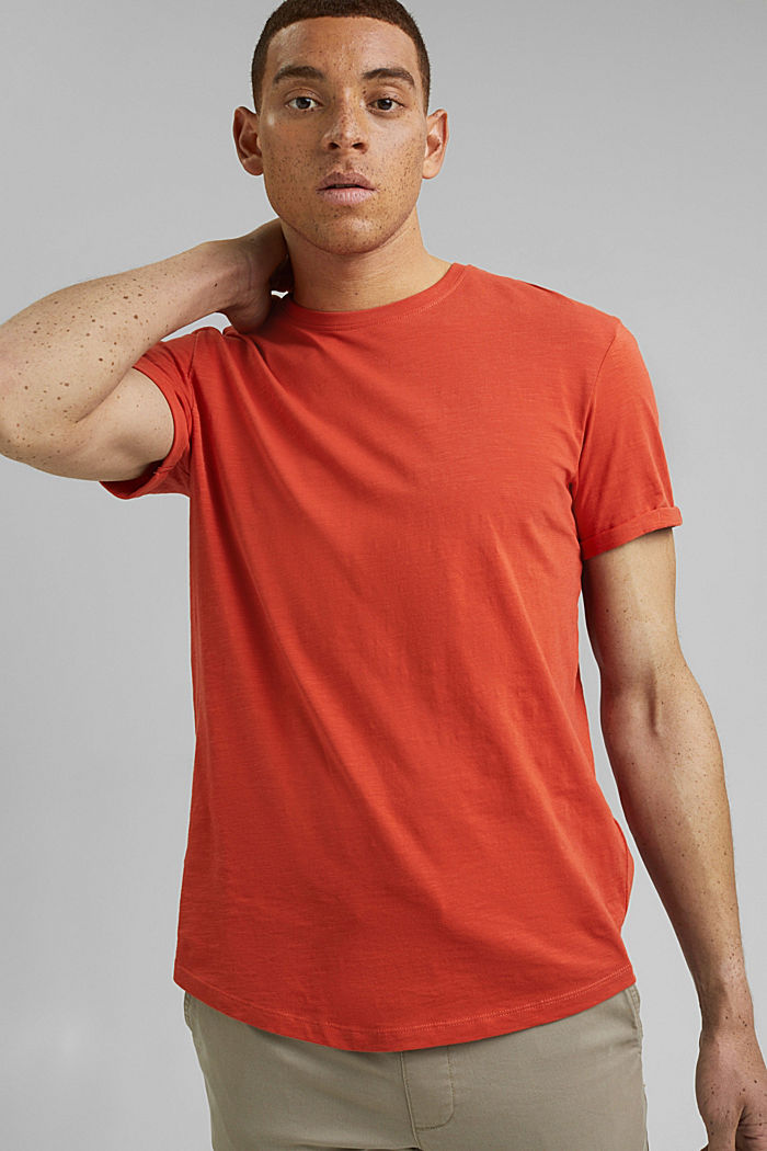 Basic T-shirt van 100% organic cotton