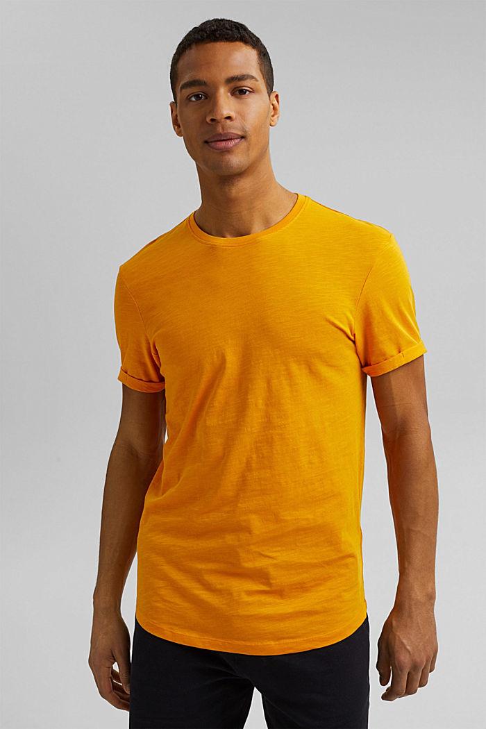 Basic-T-Shirt aus 100% Organic Cotton, SUNFLOWER YELLOW, detail image number 0