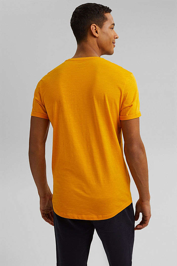 Basic-T-Shirt aus 100% Organic Cotton, SUNFLOWER YELLOW, detail image number 3