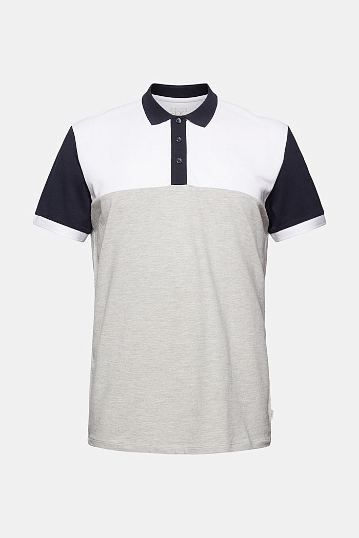 Piqué polo shirt, organic cotton