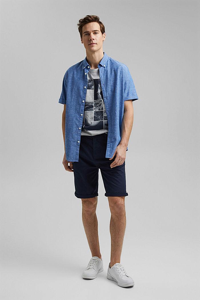 Camiseta de jersey estampada, con algodón ecológico, LIGHT GREY, detail image number 2