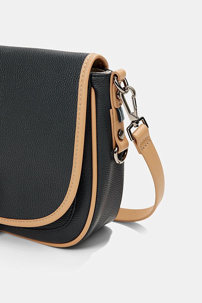 Susie T.: Schultertasche im Saddle-Stil, BLACK, detail image number 3