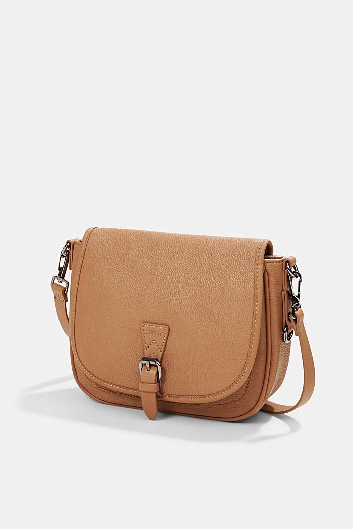 Susie T.: Saddle-style shoulder bag, CAMEL, detail image number 2