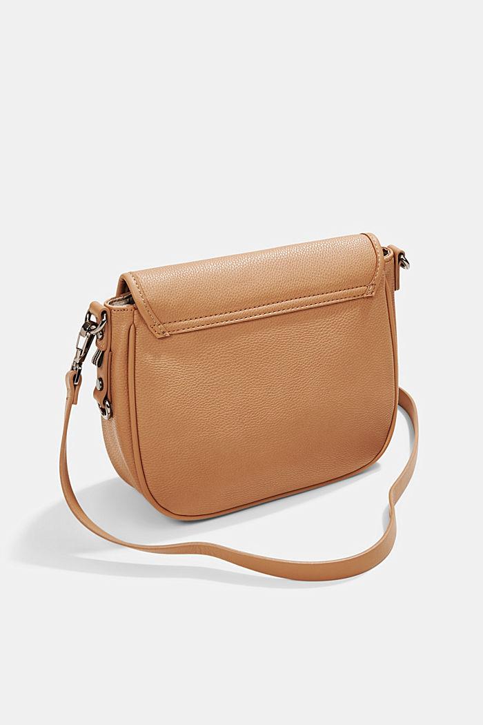 Susie T.: Saddle-style shoulder bag, CAMEL, detail image number 5