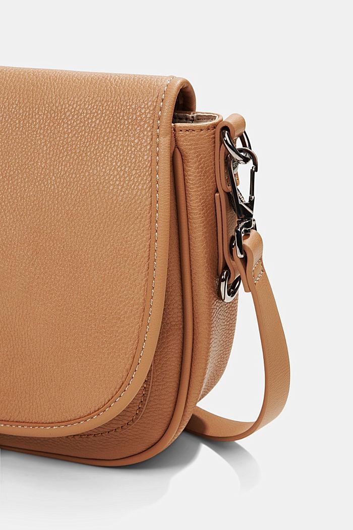 Susie T.: Saddle-style shoulder bag, CAMEL, detail image number 3