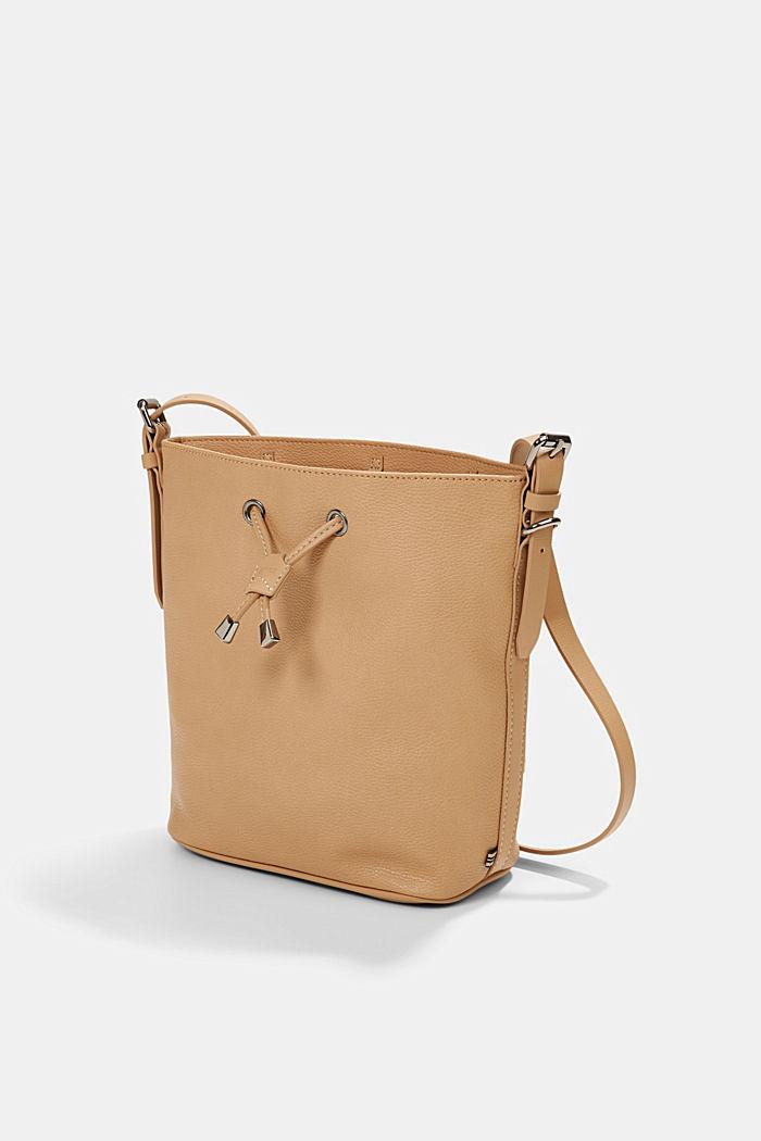 Susie T. Bucket Bag, vegan, CAMEL, detail image number 2