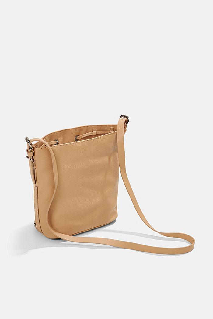 Susie T. Bucket Bag, vegan, CAMEL, detail image number 4