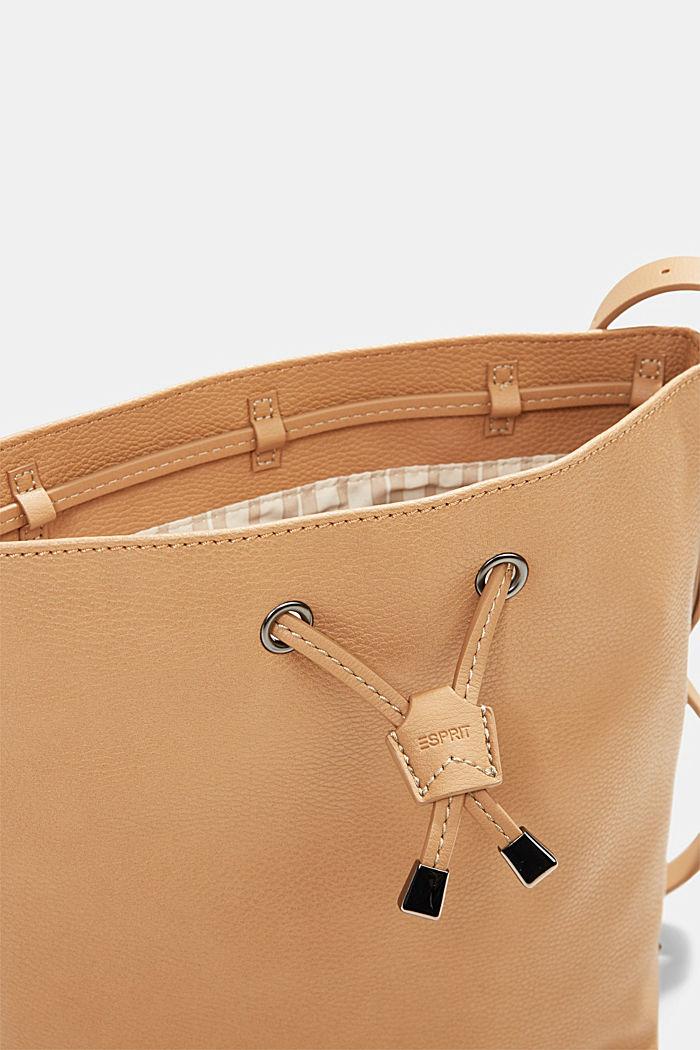 Susie T. Bucket Bag, vegan, CAMEL, detail image number 3