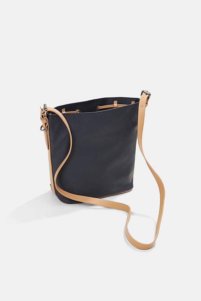 Susie T. bucket bag, vegan, NAVY, detail image number 4