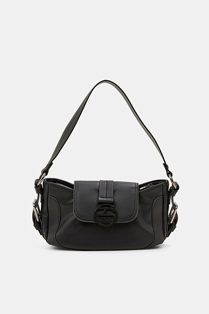 Vegan: baguette-style shoulder bag