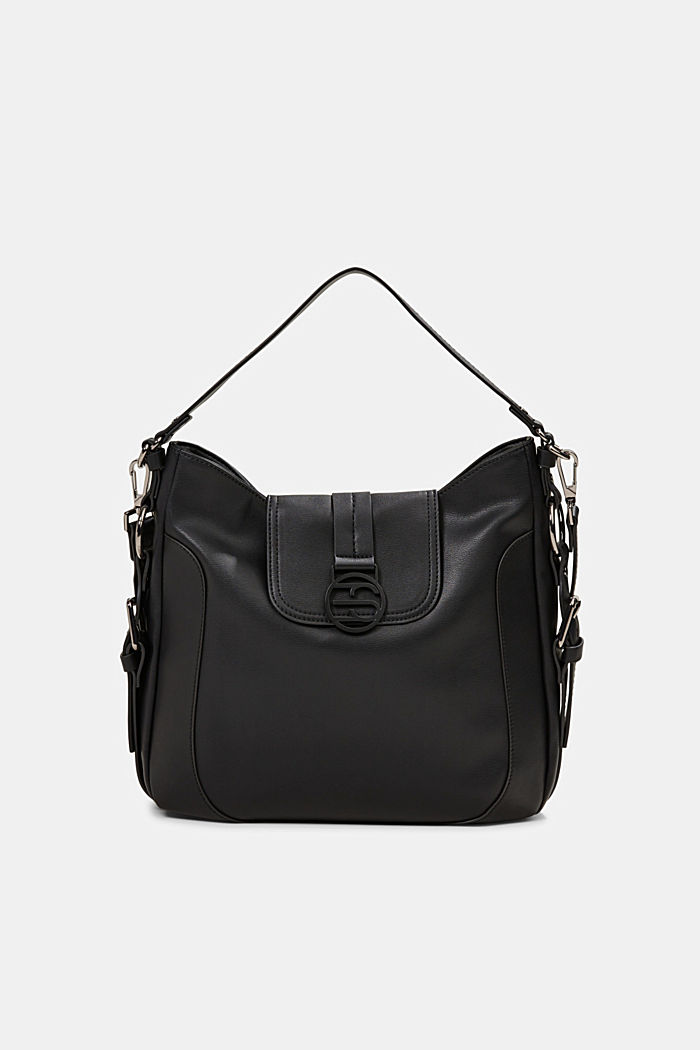 Hallie T. hobo shoulder bag, vegan
