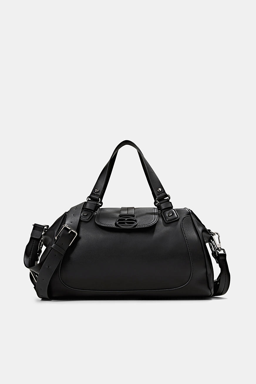 Vegan: City bag with adjustable shoulder strap