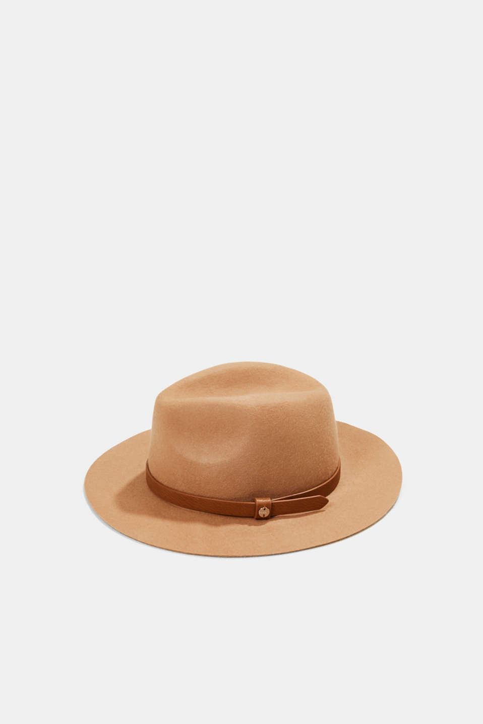 Esprit - Fedora hat made of 100% wool