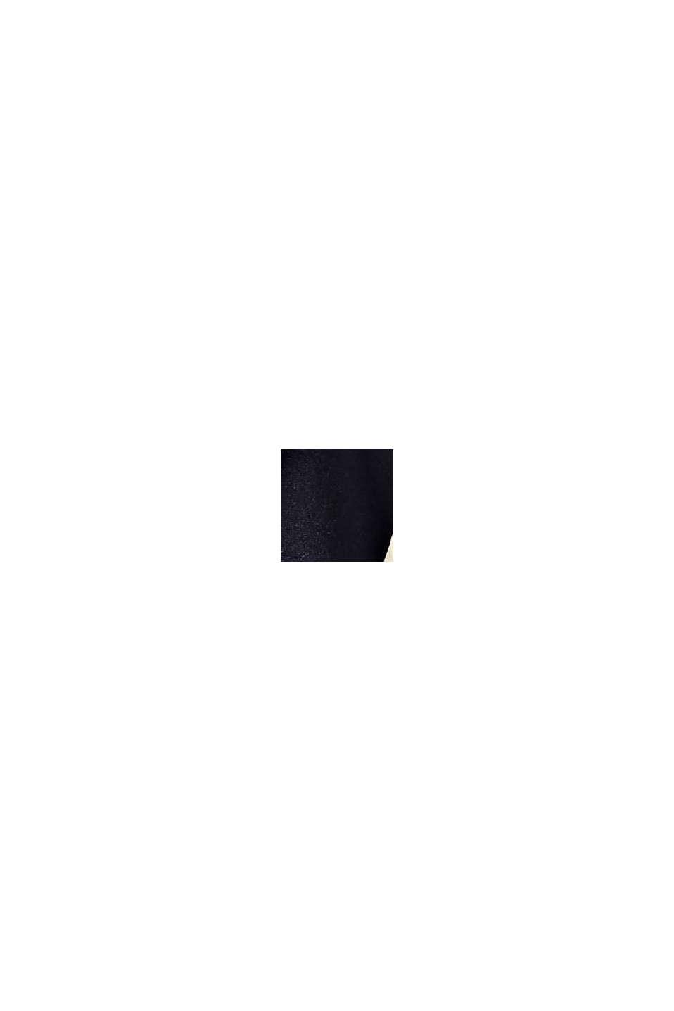 En matière recyclée: le foulard à logo imprimé, NAVY, swatch