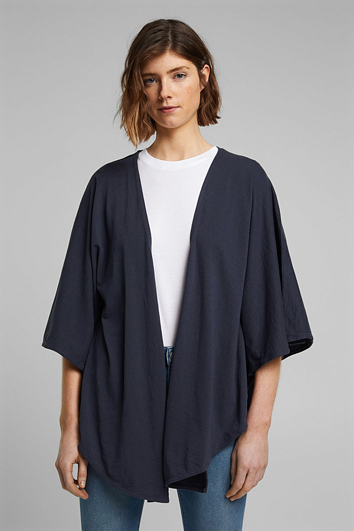 EarthColors® poncho in organic cotton