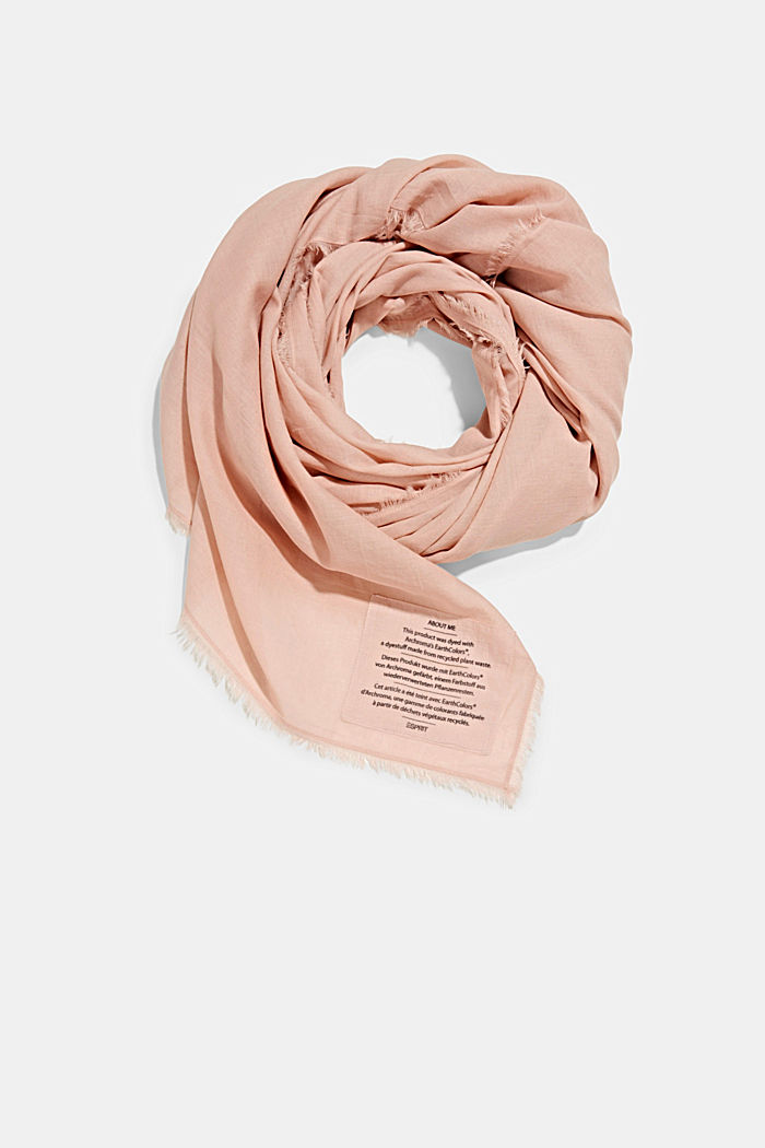 EarthColors®: scarf made of organic cotton, NUDE, detail image number 0