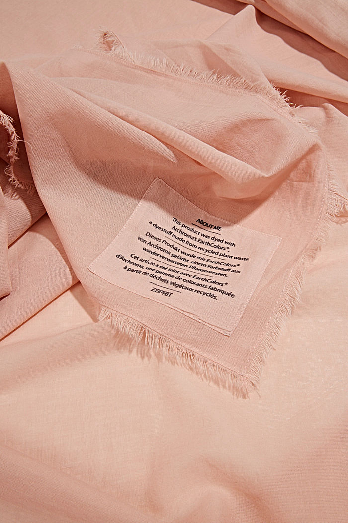 EarthColors®: scarf made of organic cotton, NUDE, detail image number 2