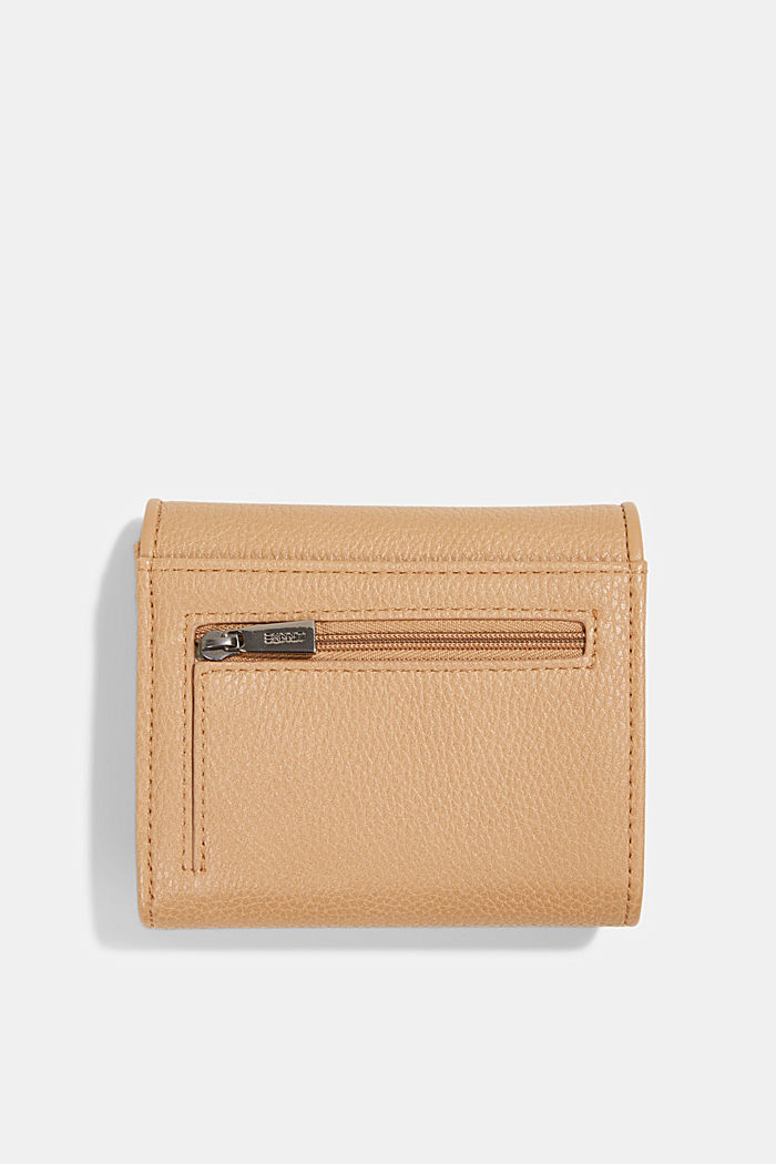 Susie T. faux leather wallet, vegan, CAMEL, detail image number 1