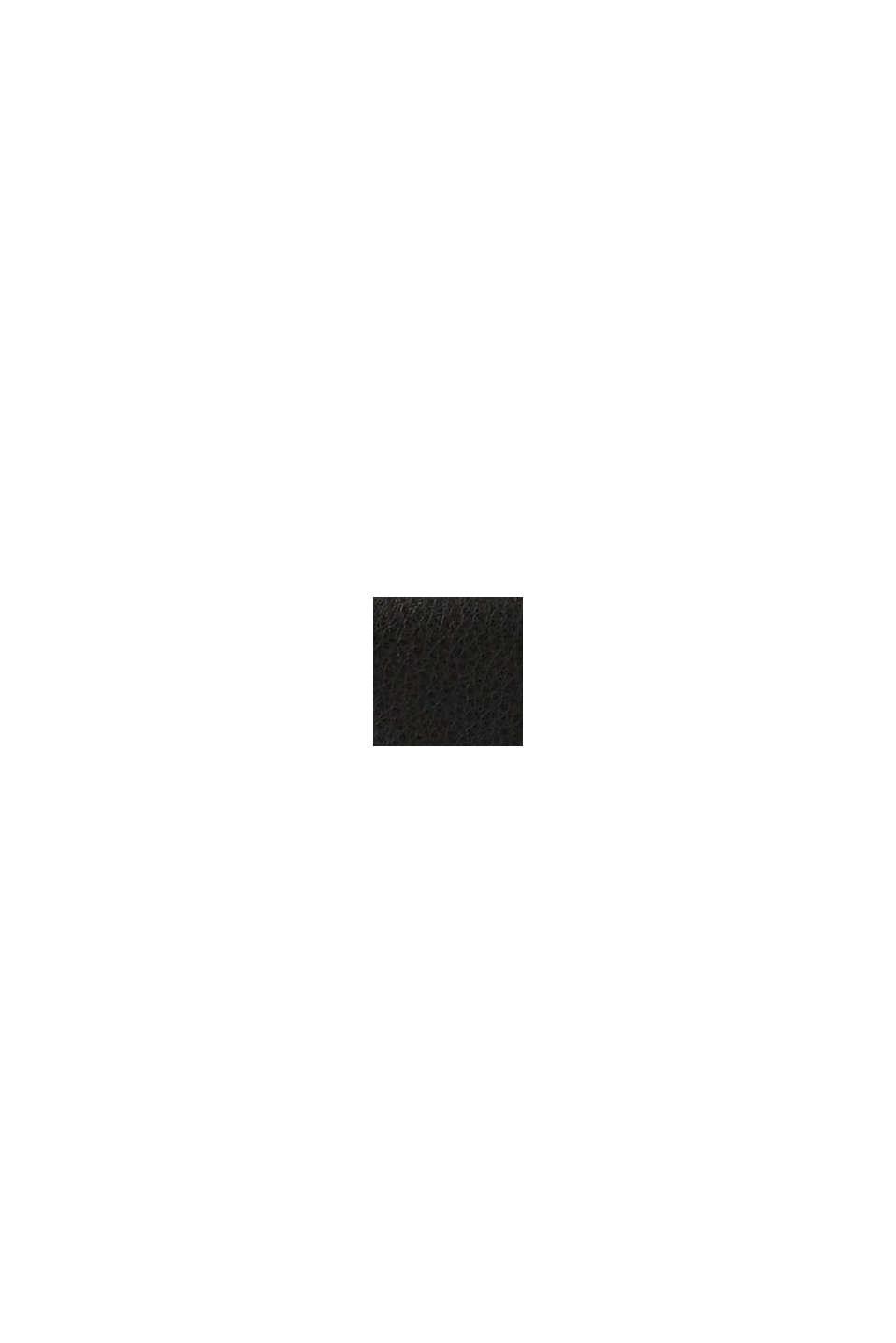 Vegan: le portefeuille à monogramme, BLACK, swatch