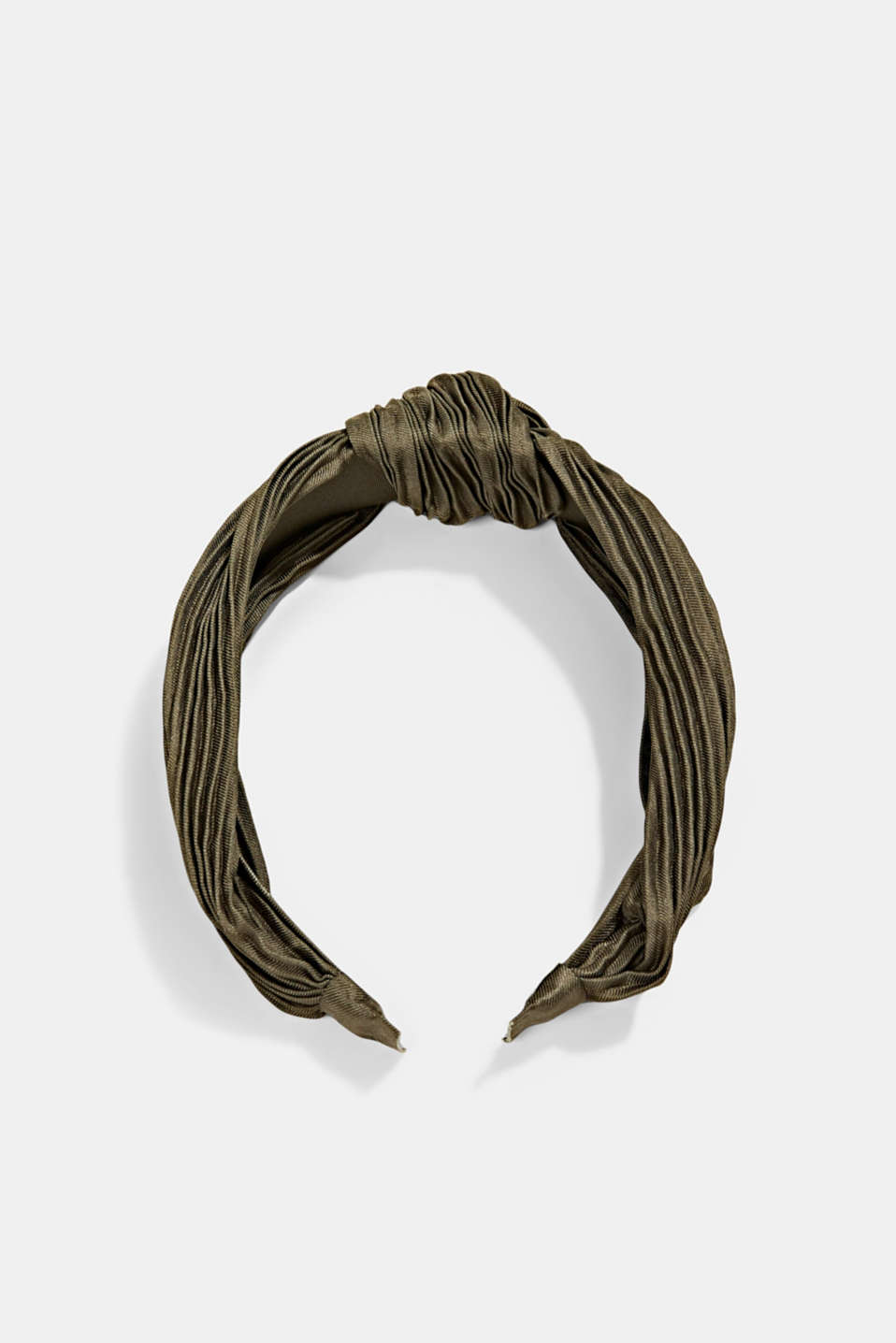 Esprit - Recycled: Hairband with plissé pleats