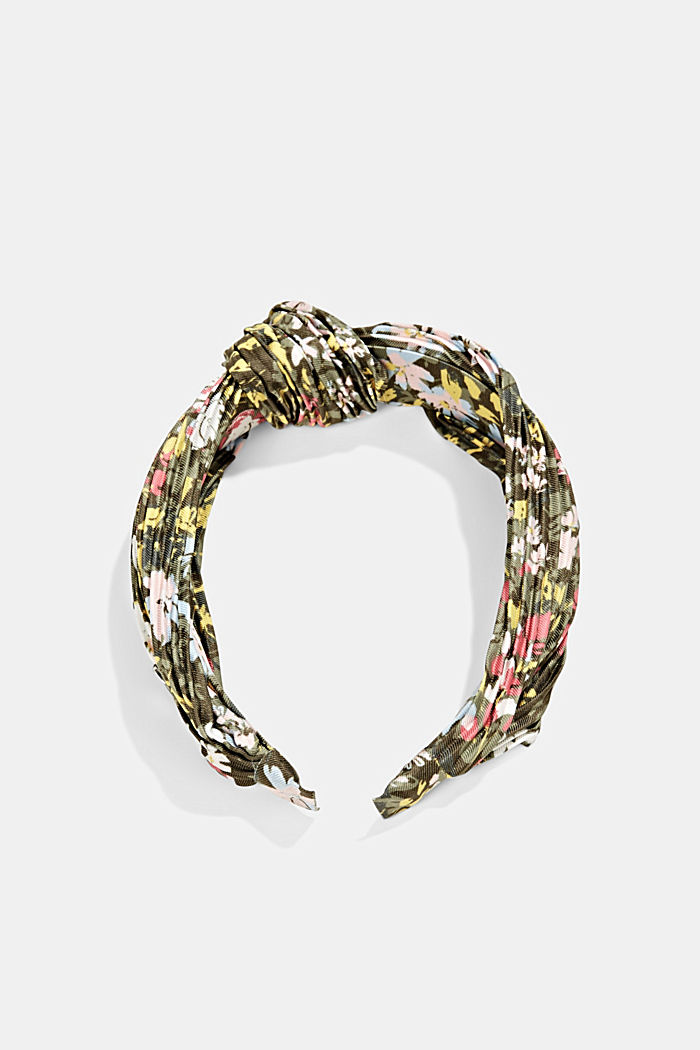 Recycled: Hairband with plissé pleats