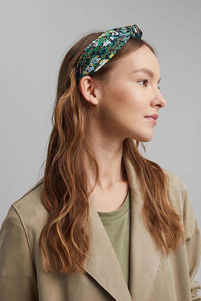 Gerecycled: haarband met plooien