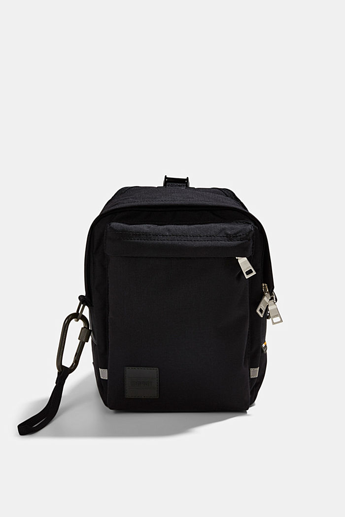 Sling backpack made of CORDURA NYLON™, BLACK, overview