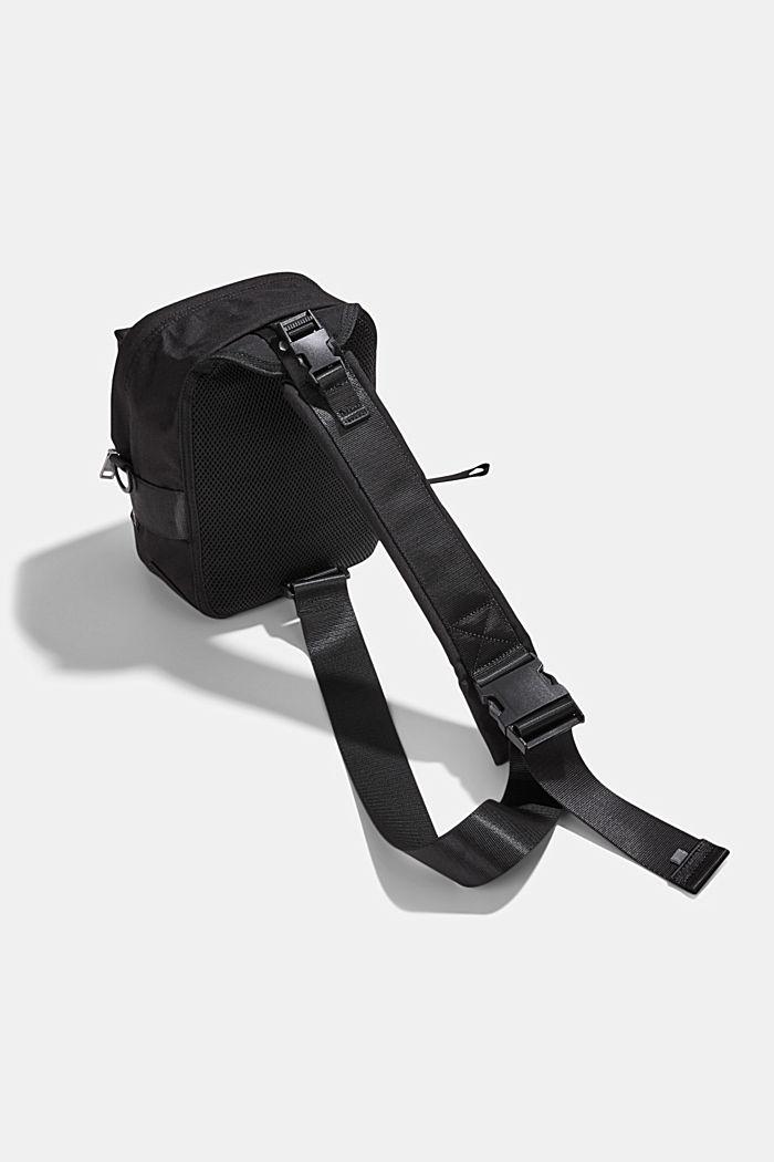 #ReimagineFlexibility: Sling backpack, BLACK, detail image number 5