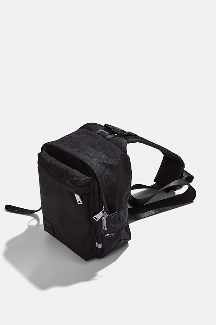 #ReimagineFlexibility: Sling backpack, BLACK, detail image number 4