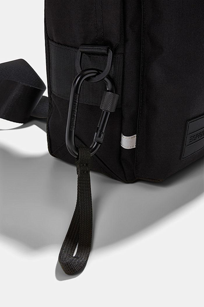 #ReimagineFlexibility: Sling backpack, BLACK, detail image number 3